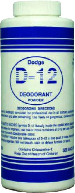 D-12 Deodorant Puder