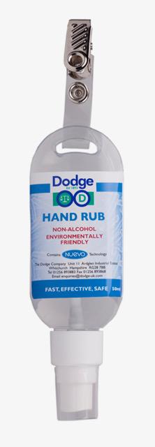 Händedesinfektion für unterwegs