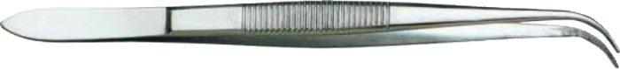 Dentalpinzette, gewinkelt, 16 cm