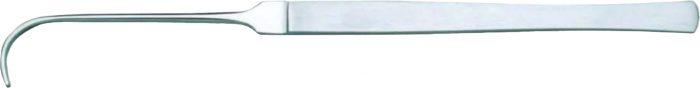 Aneurysmenhaken mit Auge 17 cm