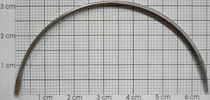 Nadeln, Halbkreis, 10 cm (4″), Ø 6,5 cm /6 St.