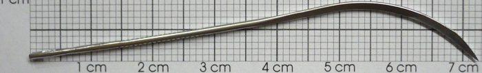Nadeln, gebogen, 7,5 cm (3″) /6 St.