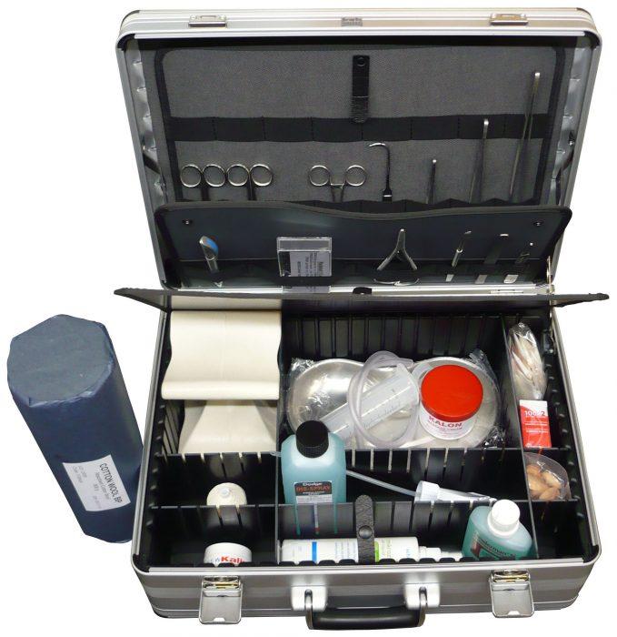 Hygienischer Versorgungskoffer nach VDT